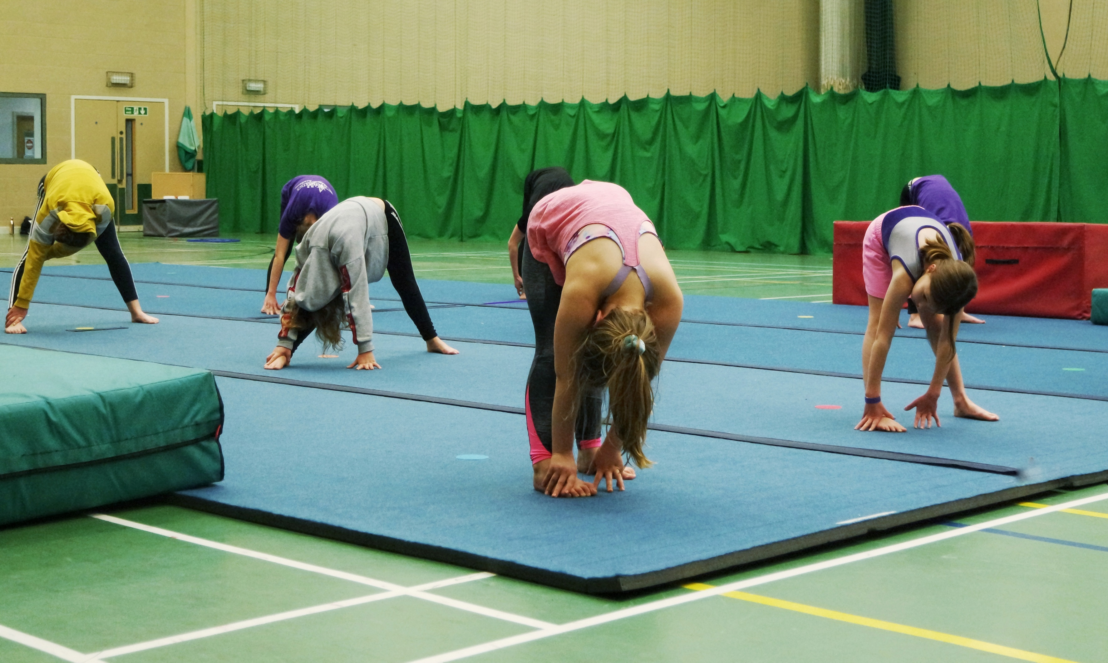 malvern gymnastics activity stretch