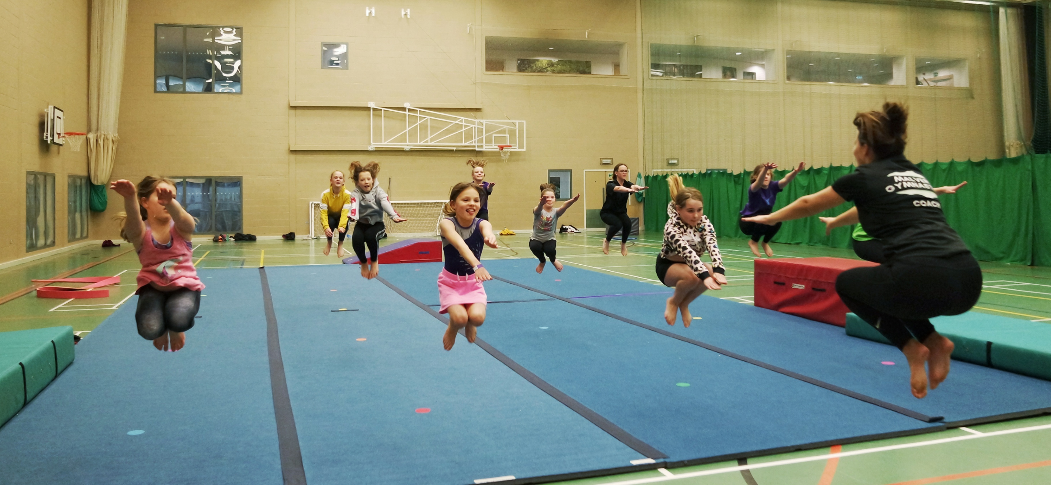 malvern gymnastics activity tuck jump